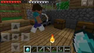 getlinkyoutube.com-Minecraft Pocket Edition Multiplayer Lets Play! ~ Episode 2 ~ Crashes And Diamonds! W/ VGamerTV!