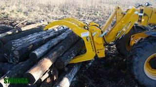 Stronga Q-FIT Log and Timber Grapple attachment (SLG200)