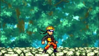 getlinkyoutube.com-Random Sprite battles: Goku vs Naruto