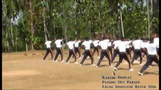 Karate Display _ Sri Lanka Excise - Inspector Batch 2016