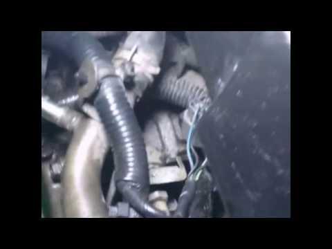 Замена термостата Nissan Primera