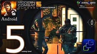 getlinkyoutube.com-Modern Combat 5 Blackout: Android Walkthrough - Part 5 - Chapter 3: Downtown - Safe House