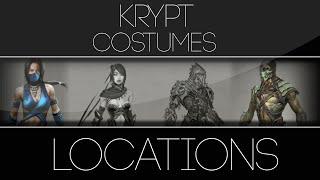 getlinkyoutube.com-Mortal Kombat X Krypt Alternate Costumes Locations