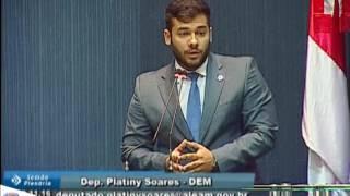 Platiny Soares critica governo por não pagar diárias aos policiais do AM