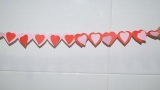getlinkyoutube.com-Guirnalda con corazones