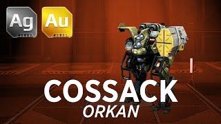 getlinkyoutube.com-War Robots Cossack Orkan Gameplay