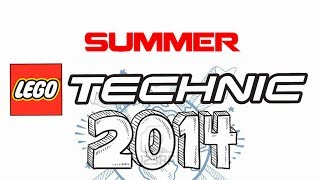 getlinkyoutube.com-LEGO Technic summer 2014 first revealed SETs!