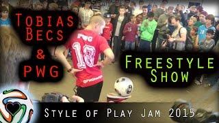 getlinkyoutube.com-Tobias Becs & PWG - Freestyle Show | Style of Play Jam 2015 - Copenhagen