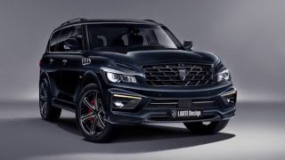 Infiniti QX80 body kit called Missuro by LARTE. New video.