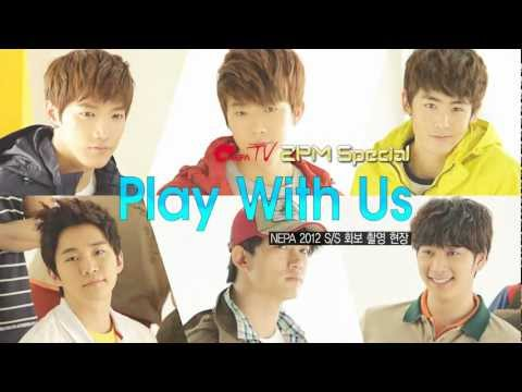 Play with 2PM NEPA 2012 Special Making Film Part 2