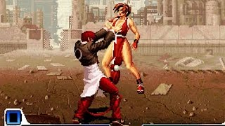 getlinkyoutube.com-SNK vs Capcom Chaos Ryona : SNK Characters