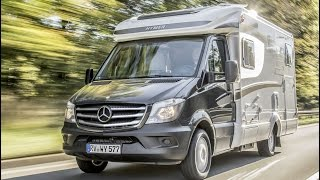 Mercedes Sprinter based Hymer ML-T motorhome - Assistance Systems