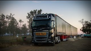 Volvo Trucks - Volvo FH roadtrain in the heart of trucking hell: Brian's Truck Report (E03)