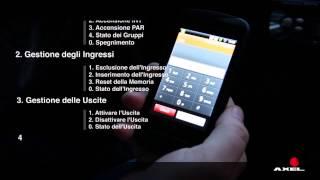 AXEL - Funzioni RFA e la gestione remota dell'impianto -