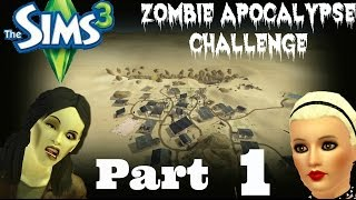 Sims 3 Zombie Apocalypse Part 1; The Infection Begins