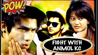 FIGHT WITH ANMOL KC [FILM ZONED - HOSTEL]