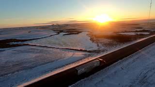 Ujęcia Dronem Styczeń 2018 - Kanada Truckiem
