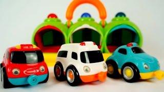 getlinkyoutube.com-Мультики про машинки: скорая помощь, пожарная машина, полицейская машина. Экстренные службы