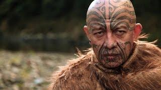getlinkyoutube.com-Face Tattoo - Maori Ta Moko New Zealand - Te Kahautu Maxwell