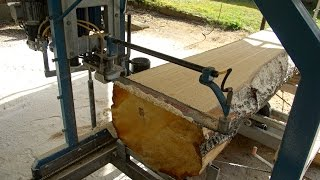 SNIK chainsaw mill video 3