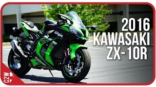 getlinkyoutube.com-2016 Kawasaki ZX-10r | First Ride