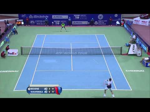 Stanislas Wawrinka vs Aljaž Bedene FINAL Highlights HD Chennai 2015