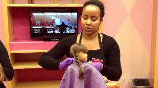 getlinkyoutube.com-Spa Deluxe package at American Girl Place Chicago July 2013