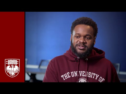 The University of Chicago Graham School HBCU Bridge Scholar DeVon Pruitt