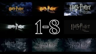 Harry Potter - Trailers (1-8) [HD]