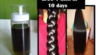 getlinkyoutube.com-grow hair 1 inch in 10 days | Curry leaf herbal oil | Starnatural beauties