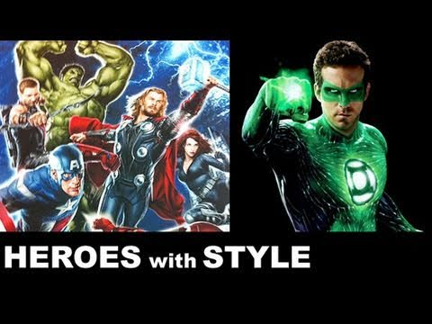 The Avengers 2012, Green Lantern, Captain America : Beyond The Trailer