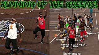 getlinkyoutube.com-NBA 2K17 MyPark - TIME TO RUN UP THE GREENS! CUNTREE BACK TRYING TO GET HIS ANKLES BROKEN!