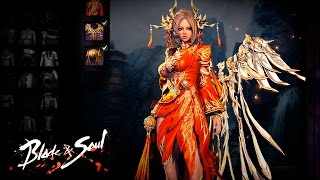 getlinkyoutube.com-Blade & Soul 4.0 - New Costumes - F2P Update - (Profile&Mod Included) - KR