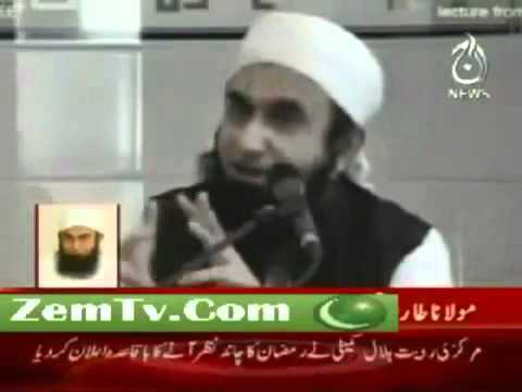 Maulana Tariq Jameel Live At Aaj TV 1 August 2011.flv
