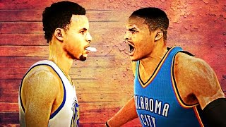getlinkyoutube.com-NBA 2K16 - Stephen Curry vs Russell Westbrook