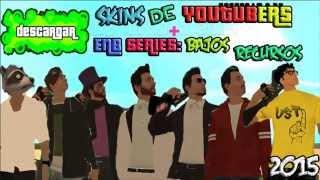 getlinkyoutube.com-Gta Sa: Skins de youtubers Gta v online| Enb series BR | 2015