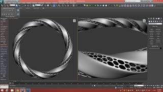 getlinkyoutube.com-3D Tutorial | Modeling Triply Twisted Torus With Holes | 3dsmax
