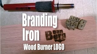 getlinkyoutube.com-How to make a Branding Iron Logo for a Wood Burning Tool