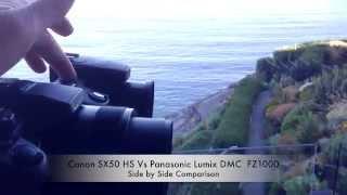 getlinkyoutube.com-Lumix DMC FZ1000 Vs Canon SX50 HS Run'n Gun Real Life Review