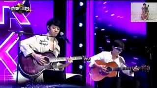 getlinkyoutube.com-Roy kim y Jung Joon Young - Becoming dust LIVE Sub español