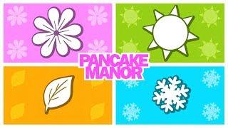 getlinkyoutube.com-SEASONS SONG ♫ | Learning & Teaching | Kids Songs | Pancake Manor