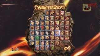getlinkyoutube.com-Street Fighter x Tekken - Desbloqueado Todos Los Personajes y Trajes en 720p HD