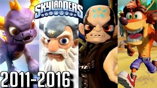 getlinkyoutube.com-Skylanders - ALL INTROS 2011-2016 (PS4, Wii U, Xbox, 3DS)