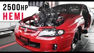 2500hp Blown Hemi Monaro | Hewitt Racing