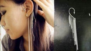 getlinkyoutube.com-DIY Ear Hook/Ear Wrap
