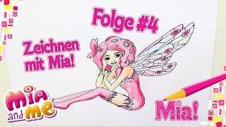 getlinkyoutube.com-Mia - Zeichnen mit Mia - Mia and me
