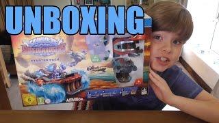 getlinkyoutube.com-Unboxing Skylanders SuperChargers PS4 Starter Pack   KID GAMING