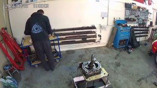 Silnika Wankla- Rozkręcanie silnika