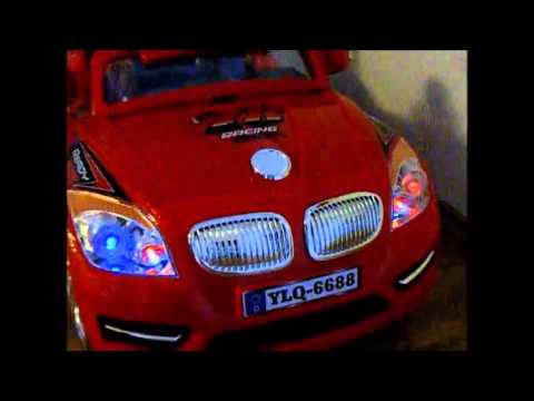 Детский электромобиль BMW ZV, 2 мотора - Raspashonka.com.ua
