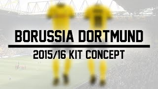 getlinkyoutube.com-Speed Art - Borussia Dortmund 2015/16 Concept Kit Design